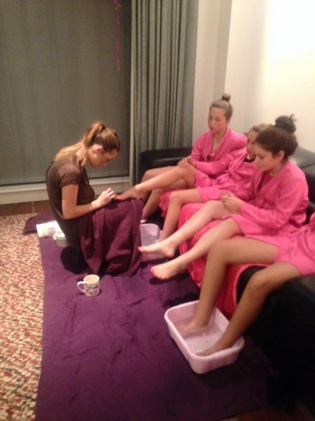 Mobile Pamper Parties Canterbury