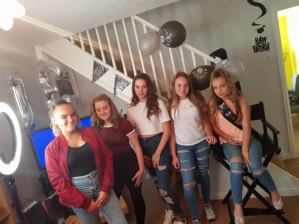 Make Over Pamper Parties for Teenagers In Cambridge